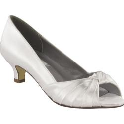 Women's Dyeables Becky White Satin