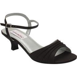 Women's Dyeables Brielle Black Satin (More options available)