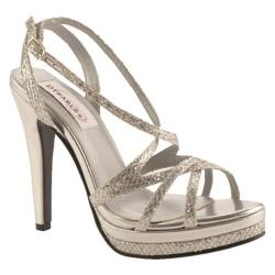 Women's Dyeables Bryce Silver Glitter