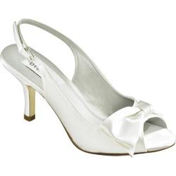 Women's Dyeables Faye White Satin