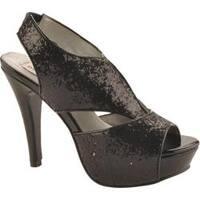 Women's Dyeables Kat Black Glitter