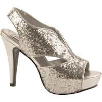 Women's Dyeables Kat Silver Glitter