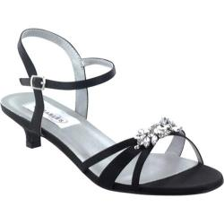 Women's Dyeables Penelope Black Satin