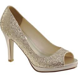 Women's Dyeables Sari Champagne Glitter