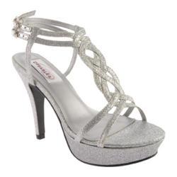Women's Dyeables Vivi Silver Glitter