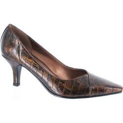 Women's Easy Street Chiffon Bronze Patent Croco