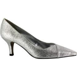 Women's Easy Street Chiffon Silver Glitter