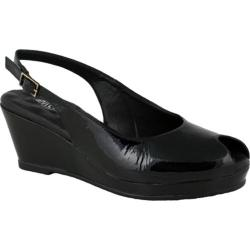 Women's Elites Natasha Black Softy Patent Leather