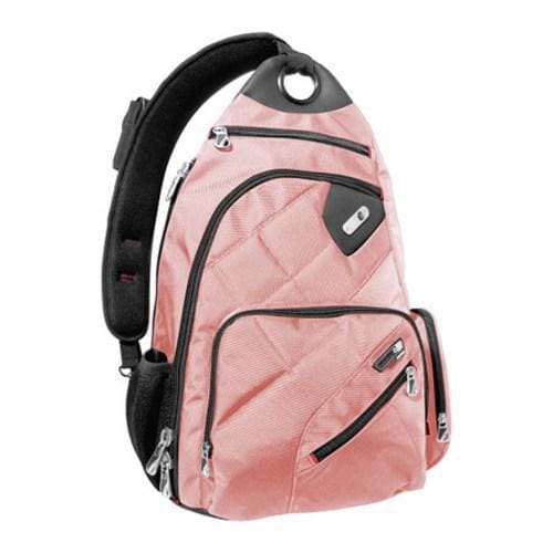 Ful Brick House Pink Laptop Sling Backpack with Smart Pho...