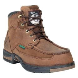 Men's Georgia Boot G7403 Athens 6in Moc-Toe Brown