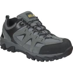 Men's Golden Retriever Footwear 1365 Gray Leather/Gray Mesh
