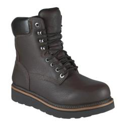 Men's Golden Retriever Footwear 3901 Dark Brown Full Grain Leather