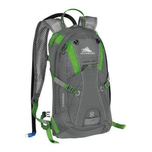 High Sierra Piranha 10L Charcoal/Kelly