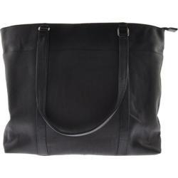 Women's Millennium Leather Vaqueta Woman's Handbag/Briefcase VN Black Vaqueta Nappa