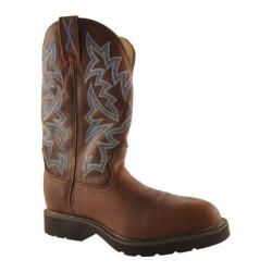 Men's Twisted X Boots MSCW001 Brown Pebble/Brown