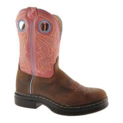 Women's Twisted X Boots WEZS001 Marbled Distressed/Light Pink Leather