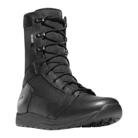 Men's Danner Tachyon 8in GTX Black Full Grain Leather/Nylon