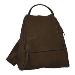 David King Leather 363 Convertible Backpack Sling Cafe