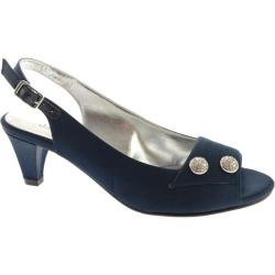 Women's David Tate Party Navy Satin