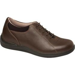 Women's Drew Tulip Brown Full Grain Leather