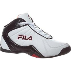 Men's Fila Leave It On The Court 2 White/Black/Fila Red