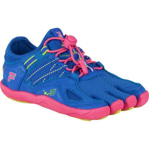 f498253f1f Shop Children's Fila Skele-Toes Bayrunner 3 Dazzling Blue/Lime Punch/Hot  Pink - Free Shipping Today - Overstock.com - 9266785