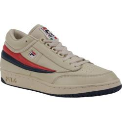 Men's Fila T1-Mid Cream/Peacoat/Chinese Red
