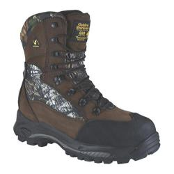 Men's Golden Retriever Footwear 4663 Brown Nubuck/Mossy Oak Break-Up® Cordura