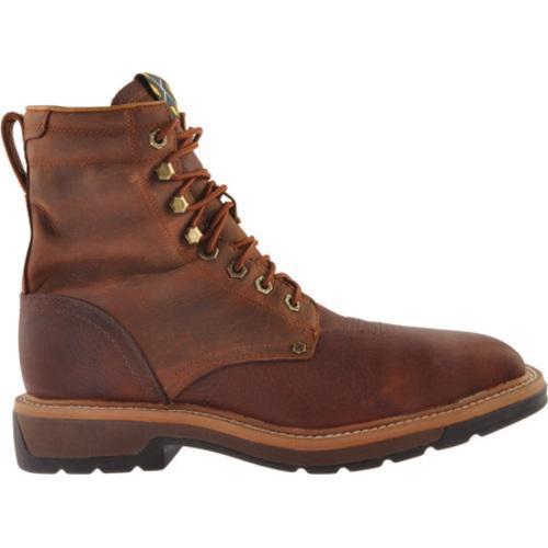 ... Men's Twisted X Boots MLCSLW1 Oiled Brown/Rust Leather ...