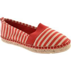 Women's Annie Tanya Red Stripe Linen
