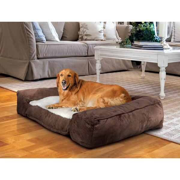 Shop Animal Planet Memory Foam Pet Bed Lounger Free