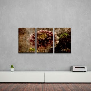Link to Ready2HangArt 'Floral' Abstract Canvas Wall Art (3-piece) Similar Items in Matching Sets