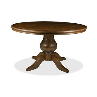 la france 39 reclaimed wood round distressed dining table