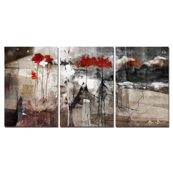 ready2hangart 39 abstract 39 canvas wall art 3 piece set. Black Bedroom Furniture Sets. Home Design Ideas