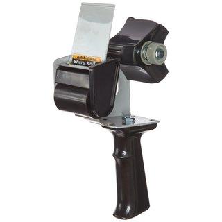 "Tartan Pistol Grip Box Sealing Tape Dispenser 3"" Core Black"