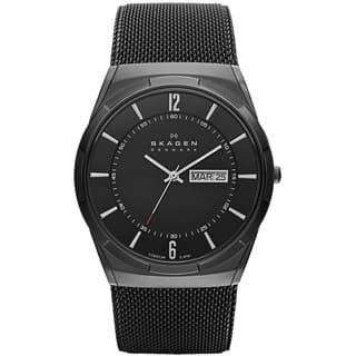 Skagen Men's SKW6006 Titanium Mesh Watch|https://ak1.ostkcdn.com/images/products/8401693/P15702448.jpg?impolicy=medium