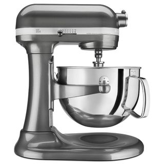 KitchenAid RKP26M1XQG Liquid Graphite 6-quart Pro 600 Tilt-Head Stand Mixer (Refurbished)