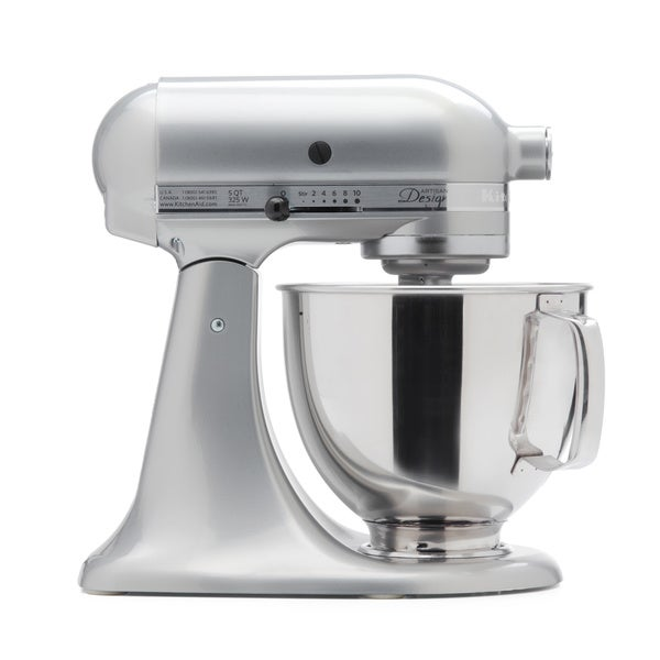 KitchenAid RRK150SR Sugar Pearl 5-quart Artisan Tilt-Head Stand Mixer (Refurbished)