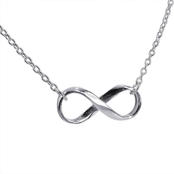 Shop Handmade Endless Love Infinity Symbol 925 Sterling Silver