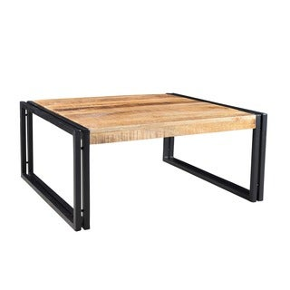 Timbergirl Handmade Reclaimed Wood Coffee Table (India)