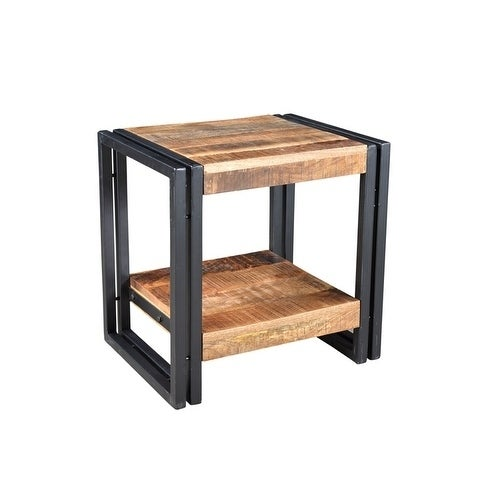 Shop Handmade Timbergirl Handcrafted Reclaimed Wood End Table India