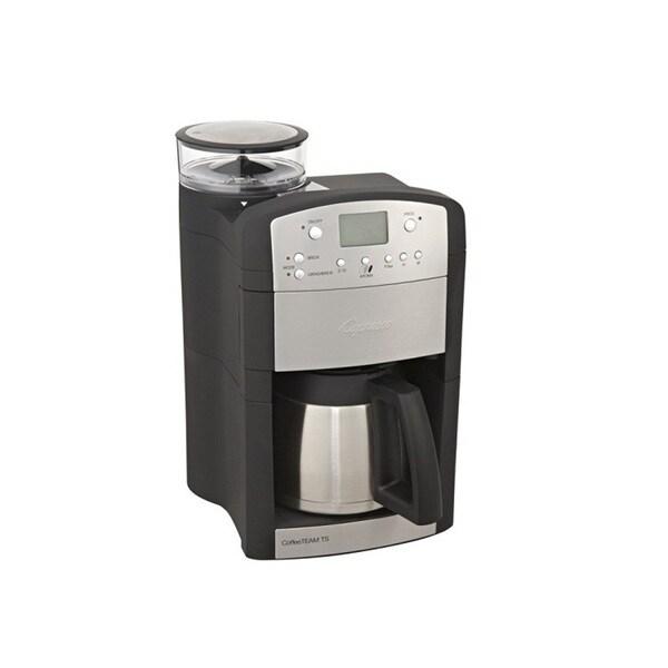 Capresso 465.05 CoffeeTEAM TS Coffee Maker (Black/Stainless Steel)