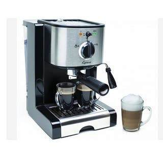 Capresso EC100 Pump Espresso and Cappuccino Machine https://ak1.ostkcdn.com/images/products/8401761/8401761/Capresso-EC100-Pump-Expresso-and-Cappuccino-Machine-P15702452.jpg?impolicy=medium