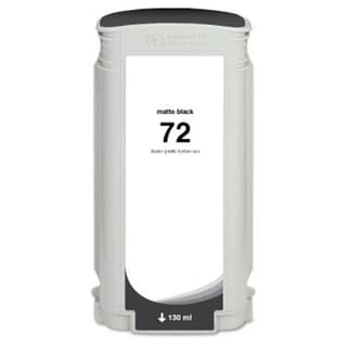 INSTEN HP 72 Matte Black Ink Cartridge (Remanufactured)