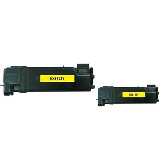 Insten Premium Yellow Color Toner Cartridge 106R01333 for Xerox Phaser 6125