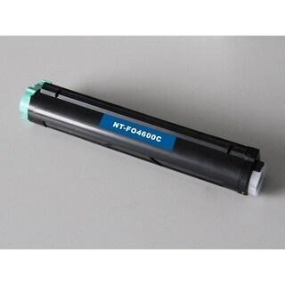 Insten Premium Black Toner Cartridge 43502001 for OKI B4600