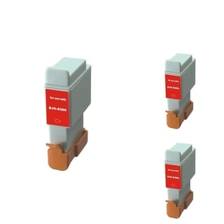 INSTEN Black Cartridge Set for Canon BCI-24 Bk (Pack of 3)