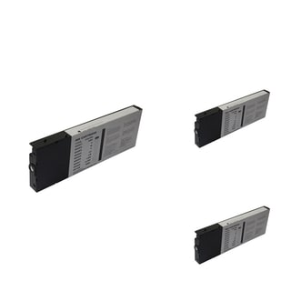 INSTEN Epson T060120 Black Cartridge Set (Remanufactured) (Pack of 3)