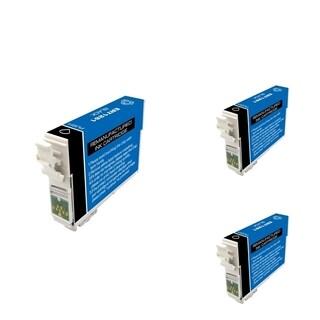 INSTEN Epson T126120 Black Cartridge Set (Remanufactured) (Pack of 3)