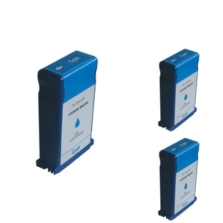 INSTEN Cyan Cartridge Set for Canon BCI-1431C (Pack of 3)